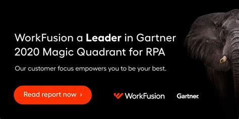 gartner magic quadrant  rpa workfusion named