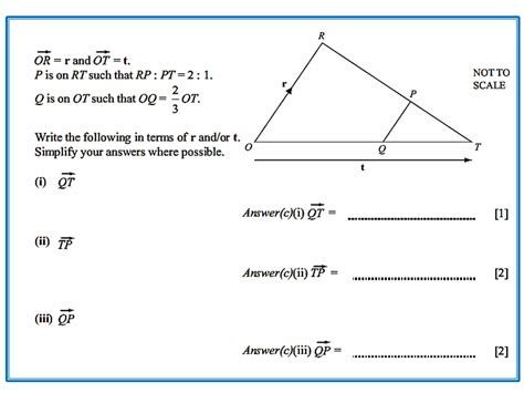 cuisine parall鑞e vectors and triangles