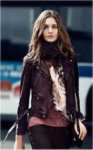 Woman Leather Jacket 2014