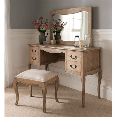 stunning montpellier blanc dressing table set working
