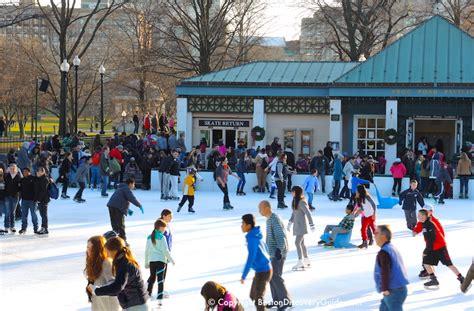 ice skating  boston rinks skate rentals boston