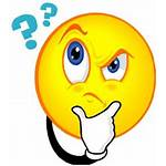 Clipart Pondering Wonder Clip Why Question Know