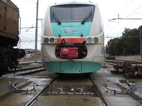 teste rotanti lavaggio esterno ed interno cassa treni raimondi impianti
