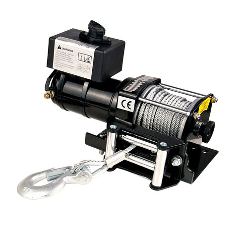 Electric Boat Winch Wireless Remote by 12v 3000lbs 1361kg Electric Winch Wireless Remote Heavy