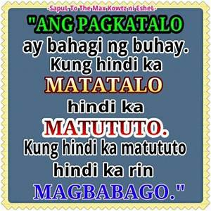 INSPIRATIONAL QUOTES ABOUT LOVE AND LIFE TAGALOG image ...