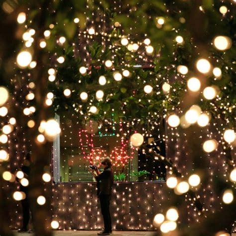 Outdoor White Laser Snowflake Led Projector Landscape
