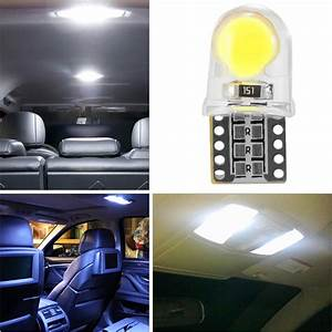 Led Auto Innenraum : 10x t10 w5w cob led lampe wei auto innenraum beleuchtung licht 6000k ma1431 ebay ~ Orissabook.com Haus und Dekorationen