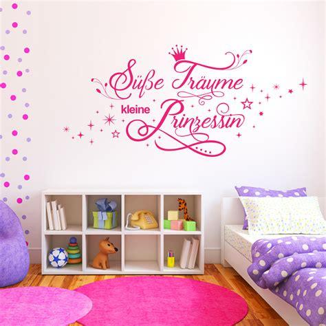 Wandtattoo Süße Träume Kleine Prinzessin Kinderzimmer