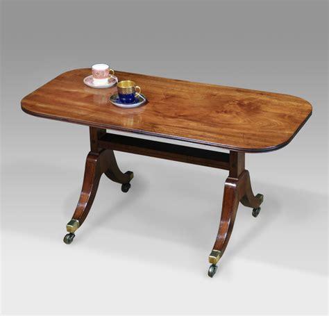 Antique Coffee Table, Mahogany Coffee Table, Georgian