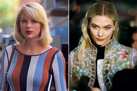 Karlie Kloss Snubs Taylor Swift With Celebrity Friends