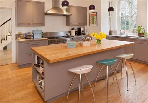meuble bois cuisine cuisine meuble bois deco maison moderne