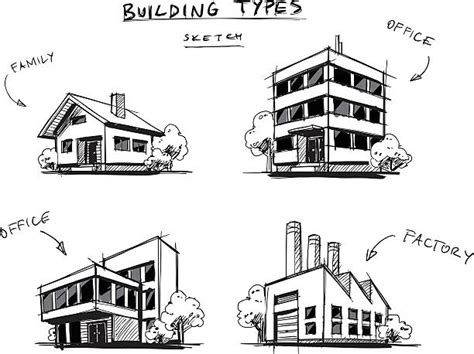 Royalty Free Buildings Clip Art Vector Images