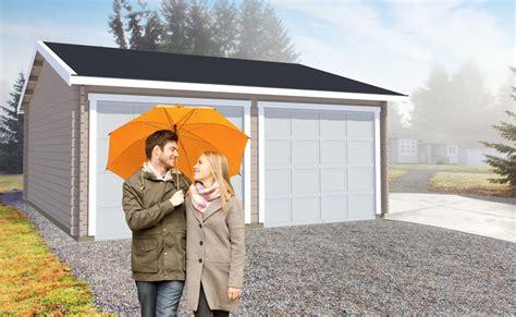 Garage 15 Er En Enkel, Stor Og Flot Dobbelt Garage På 32m2