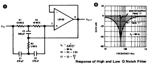 notch filter design t active notch filter electrical engineering stack