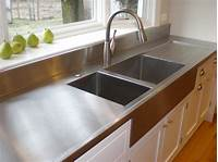 stainless steel counter Kitchen Countertop Options | Holly Bellomy Interiors