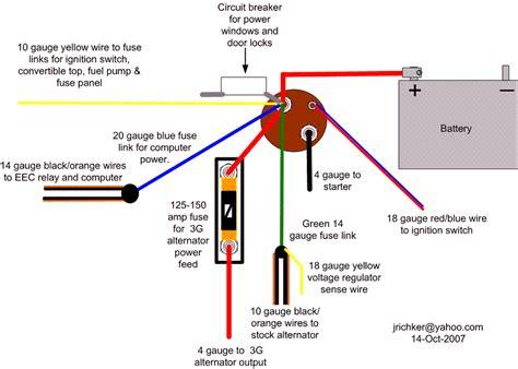 Alternator Green Wire Trouble Mustang Forums Stangnet