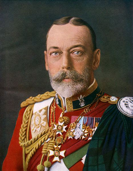 King George V as Colonel-in-Chief of Black Watch ...