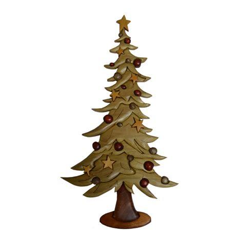 christmas tree intarsia pattern workshop supply