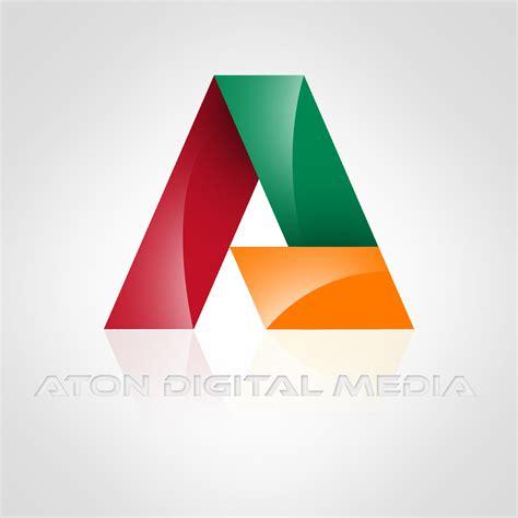 designing a logo logo design for aton digital media creative portfolio