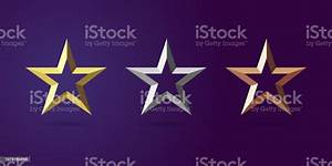 Star, Awards, First, Second, Third, Place, Stock, Illustration