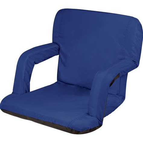 Picnic Time Reclining C Chair by Picnic Time Ventura Recliner Seat Navy 618 00 138 000 0 B H