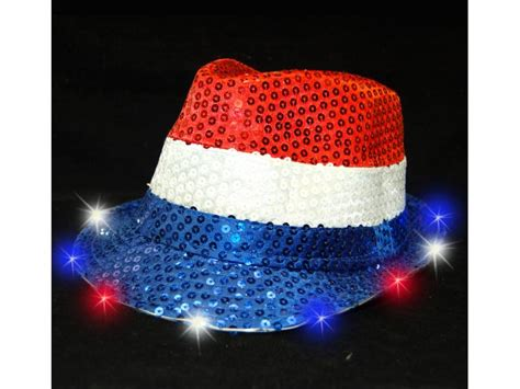 light up hats light up fedora hat rwb 88merchandise