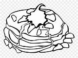 Clipart Whipped Cream Transparent Pancakes Pancake Coloring Breakfast Seekclipart Fast Recipes Pngitem sketch template