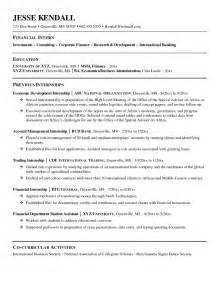 skill resume financial planner resume sle financial