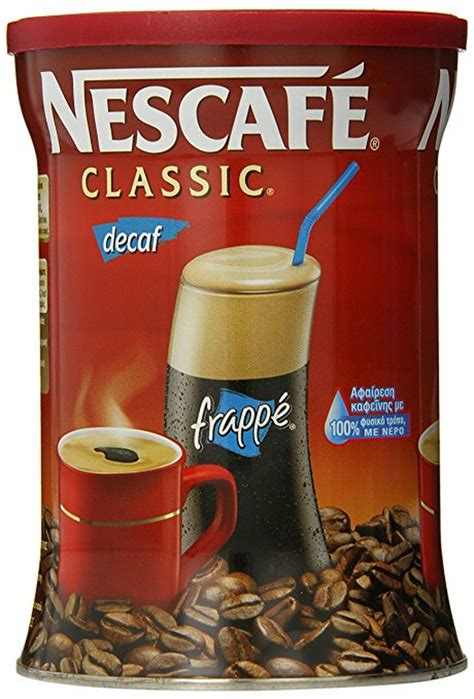 Instead, it was a fortunate mistake that led to its creation. Instant Greek Coffee Decaf | Nescafe Classic Decaf