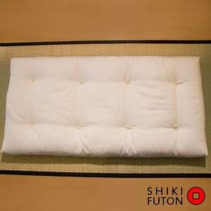 Futon pour enfant en matieres biologiques et latex de 10cm for Suspension chambre enfant avec futon latex