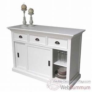 Buffet dans meuble scandinave sur meuble decoration pays for Deco cuisine avec buffet original meuble