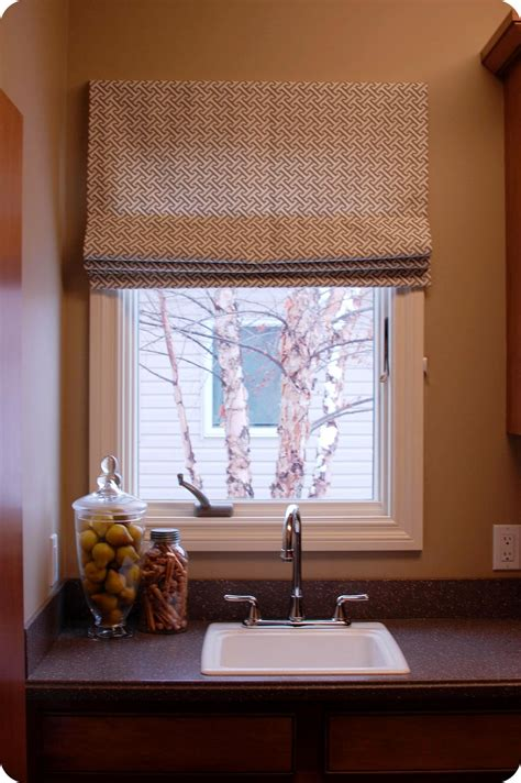 roman outside shade mount shades blind tutorial window operational sew simple blinds fully frame curtain rods way curtains rod fabric