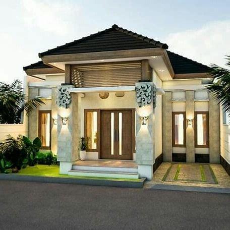 model rumah cantik sederhana  lingkungan daerah jakarta