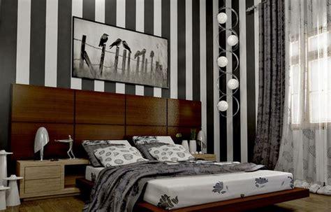 motif harga wallpaper dinding kamar tidur minimalis
