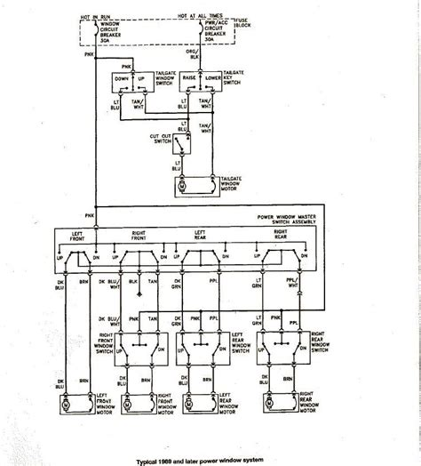 1985 Gm Window Switch Wiring by Power Windows Troubleshooting Info Gm Square 1973