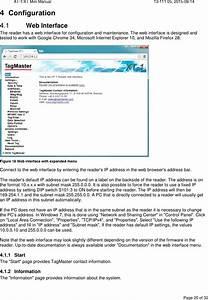 Tagmaster Xtmx Rfid Reader User Manual 13 111 05 Xt 1 Xt