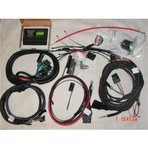 fisher  plug plow side wiring kit isolation module