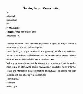 Nursing Sample Cover Letters 10 Nursing Cover Letter Template Samples Examples