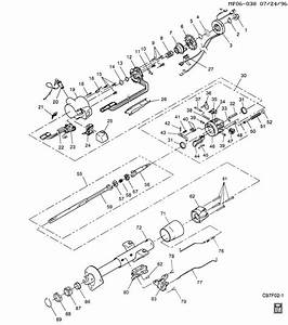 2005 Ford E250 Tilt Steering Lever Repair