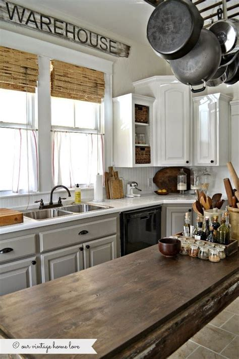kitchen cabinets photos designs painted kitchen cabinets white uppers and gray lowers with 6318
