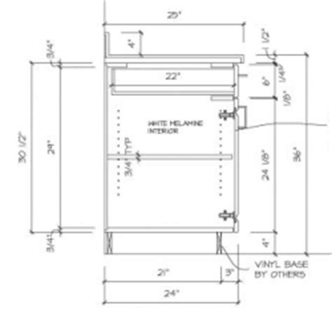 kitchen cabinet section pin casework section and details on 2747