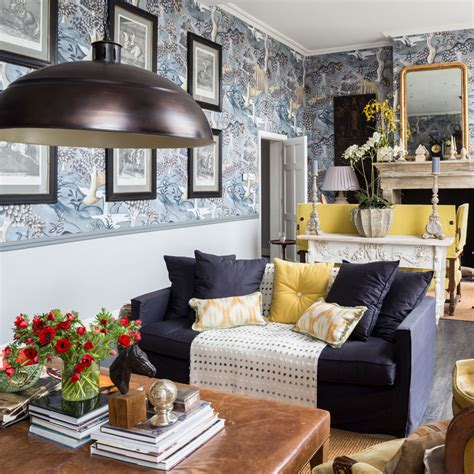 21 Living Room Wallpaper Ideas Wallpaper To Transform