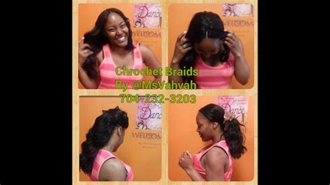 Crochet Braids W/ Straight Hair