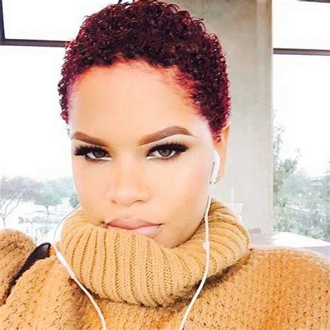 30 Super Short Natural Hairstyles For Black Women