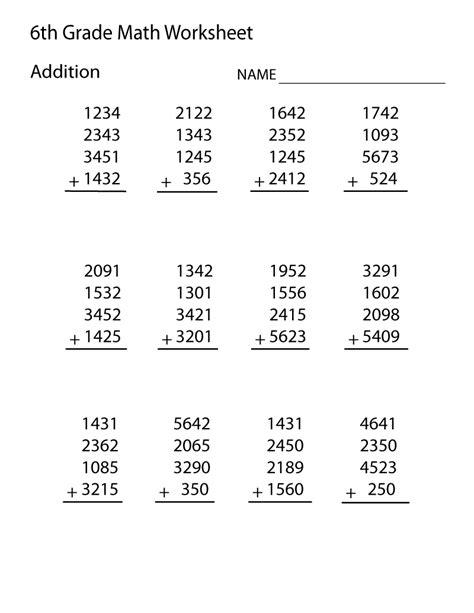 free printable worksheets grade 6 easy loving printable