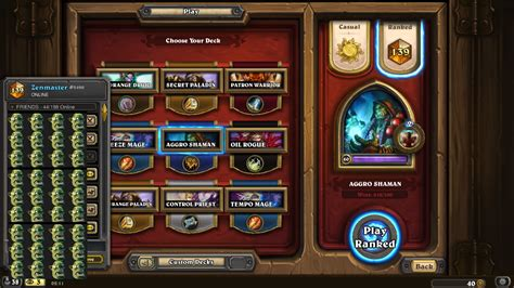 s21 top 150 aggro shaman hearthstone decks