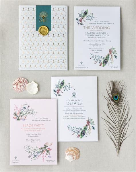 Invitation Suite Design: Louise Richardson Bespoke