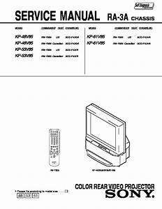 Bestseller  Sony Rear Projection Tv Repair Manual