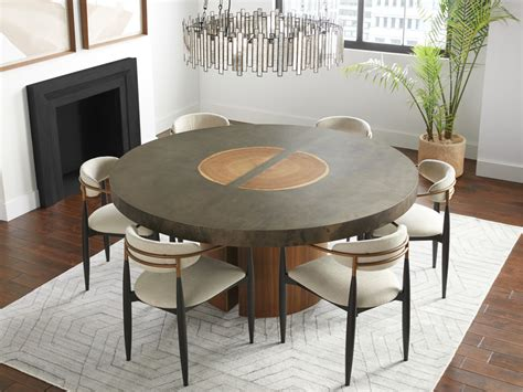 Square dining table dimensions for 12 people. Acacius Round Dining Table   Arhaus