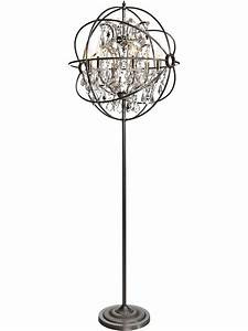 Use floor chandelier lamps for your paradise house for Chandelier floor lamp for nursery